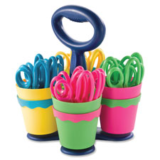 Acme Westcott Microban Teachers Scissors Caddy