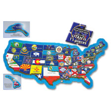 A Broader View 500-piece USA Puzzle