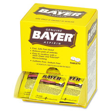 Acme Bayer Aspirin Single Dose Packets