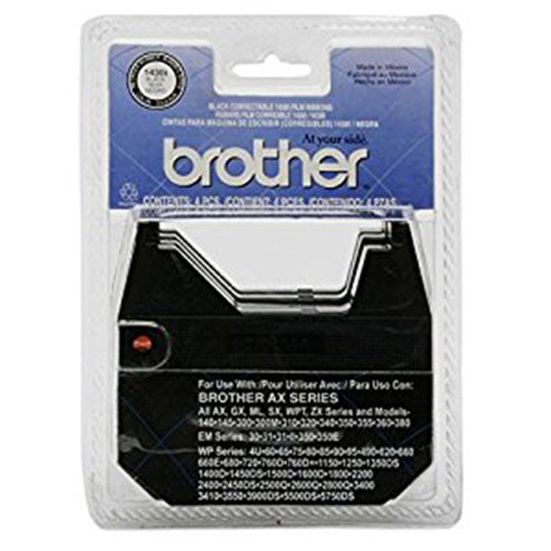 Brother 1430I Black OEM Correctable Ribbon (12/Box) (4 Box/EA)