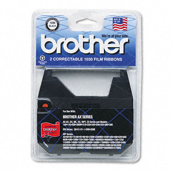 Brother 1030 Black OEM Correctable Typewriter Ribbon