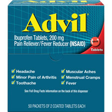 Acme Advil Pain Reliever Single Packets
