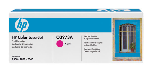 HP Q3973A (HP 123A) Magenta OEM Toner Cartridge